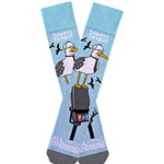 All Things Considered Robert Seagull Socks