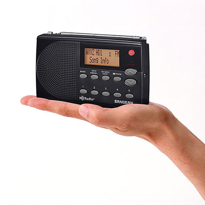Sangean HDR-14 HD Radio/FM-Stereo/AM Pocket Radio